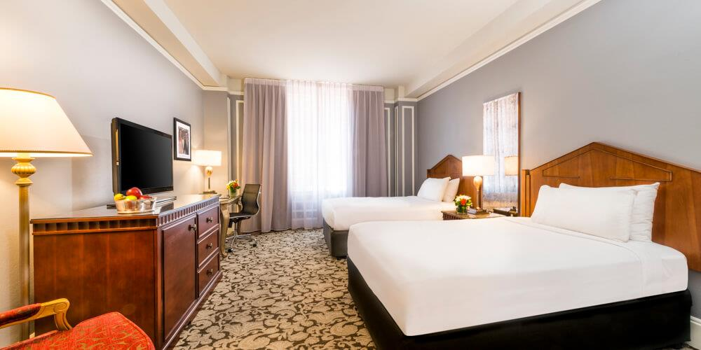 Deluxe Double room with two beds at Millennium Biltmore Hotel Los Angeles