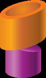 bronze-purple