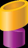 gold-purple